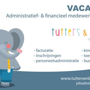 VACATURE – Administratief- & financieel medewerker (m/v/x)